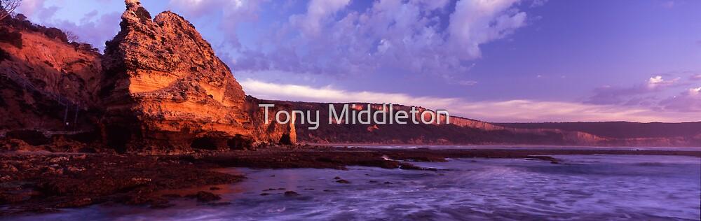 awakening cliffs by Tony Middleton