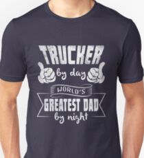 269f5ed1 Father's day trucker dad tee shirt Unisex T-Shirt