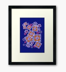 Mixture of Roses and Other Flowers Framed Print