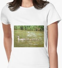 A Dozen Ducklings Women's Fitted T-Shirt