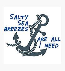 Salty Sea Breezes Photographic Print