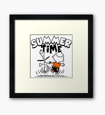 Its Summer Time Framed Print