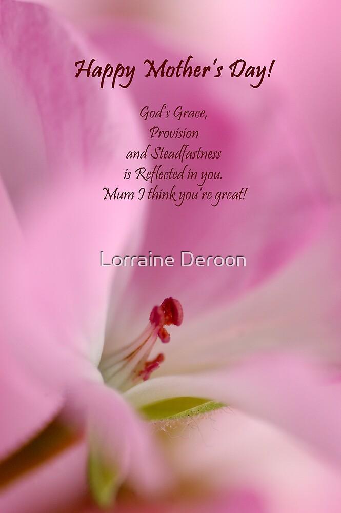 Mother's Day by Lorraine Deroon