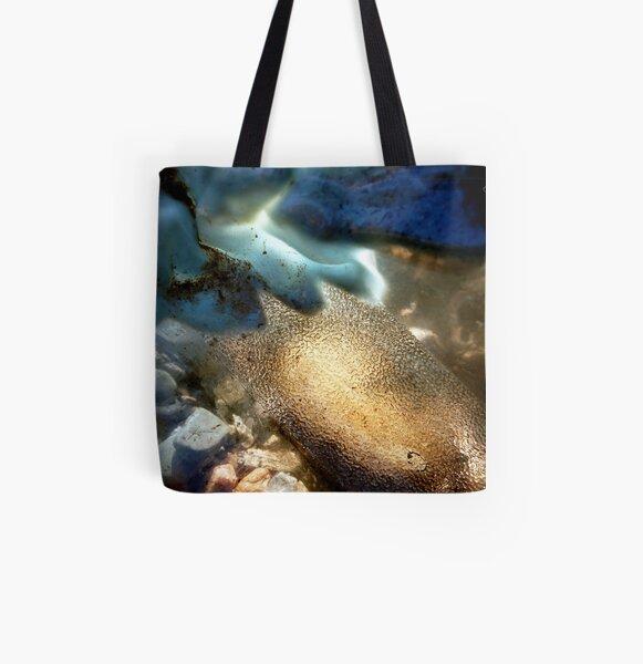 Sea-Through All Over Print Tote Bag