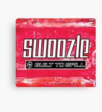 Swoozle - Never Say Die Canvas Print