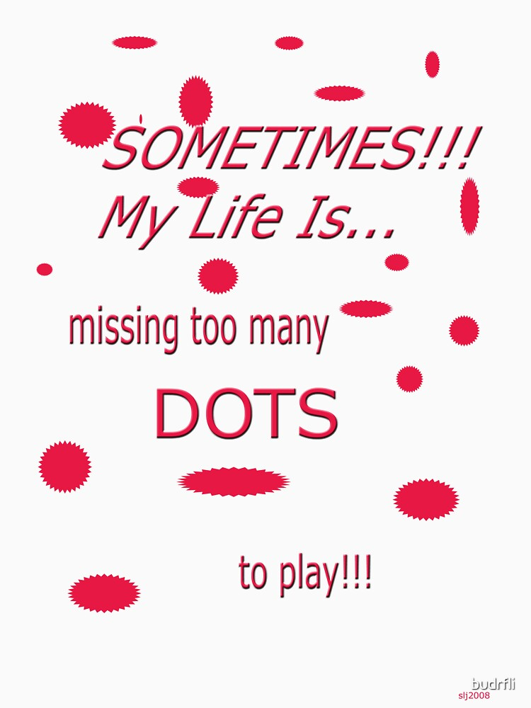 missing dots! by budrfli