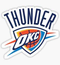 Thunder OKC Sticker