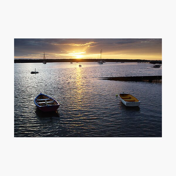 A duo of boats Photographic Print