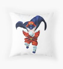 M. Bison Throw Pillow