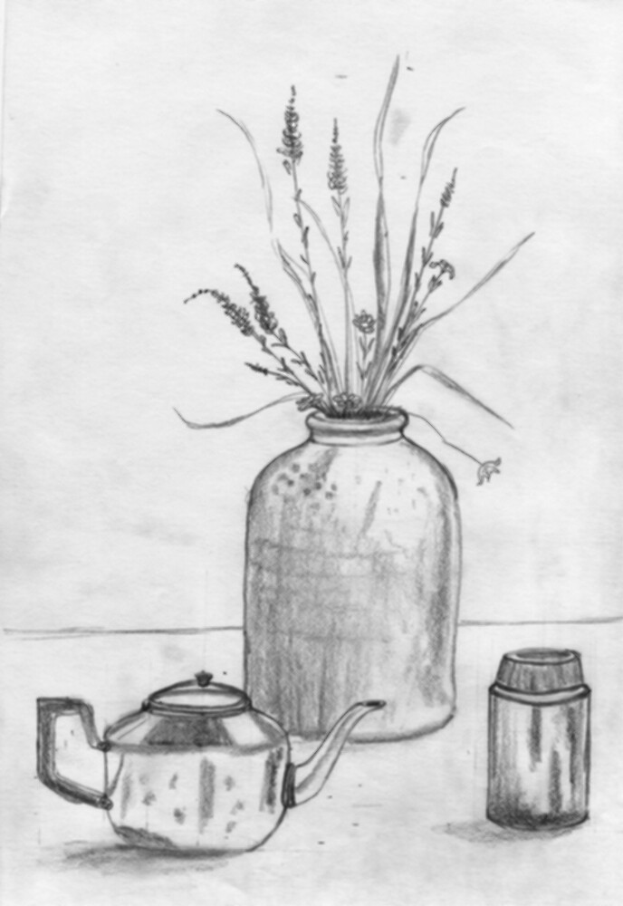 Still Life from the Kitchen by Irene Clarke