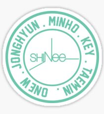 Pegatina SHinee OT5 Miembro