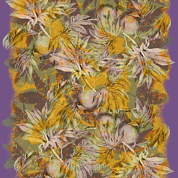 fiji bula botanical camo  by dennis-gaylor