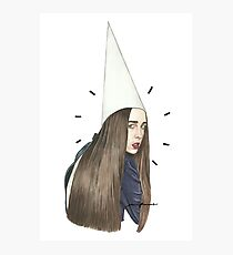Allie the Dunce Photographic Print