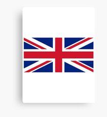United Kingdom Flag - Union Jack T-Shirt Canvas Print