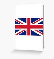 United Kingdom Flag - Union Jack T-Shirt Greeting Card