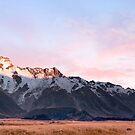 Sunrise over Aoraki / Mount Cook .2 by Alex Preiss