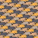 Pugs Tessellations by Huebucket