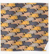 Pugs Tessellations Poster