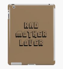 Rad Mother Lover iPad Case/Skin