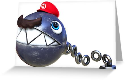 Super Mario Odissey - Chain Chomp by tweeteed