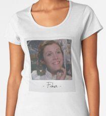 Carrie Fisher Polaroid Women's Premium T-Shirt