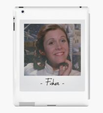 Carrie Fisher Polaroid iPad Case/Skin