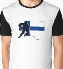 I Love Suomi ~ Finland Hockey Flag T-Paidat Shirt Graphic T-Shirt