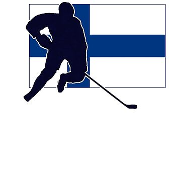 I Love Suomi ~ Finland Hockey Flag T-Paidat Shirt by deanworld