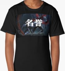 Akame Ga Kill Tatsumi Honor Kanji Anime Long T-Shirt