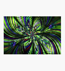 Green disco Photographic Print
