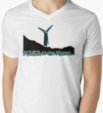 Power to the Masses Men's V-Neck T-Shirt