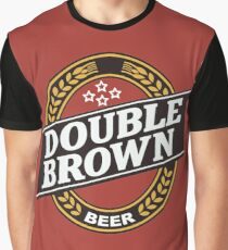 Double Brown - Nectar of the Gods Graphic T-Shirt