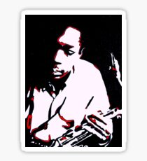 John Coltrane by Tuticki Sticker