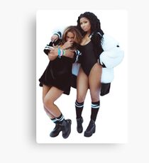 B & Nicki  Canvas Print