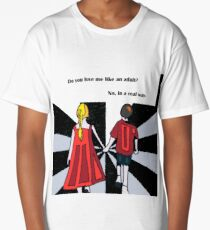 Do you love me? by Susanne Schwarz Long T-Shirt