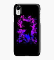 Hinata Inspired Paint Splatter Anime Shirt iPhone XR Case