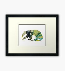Anteater art Framed Print