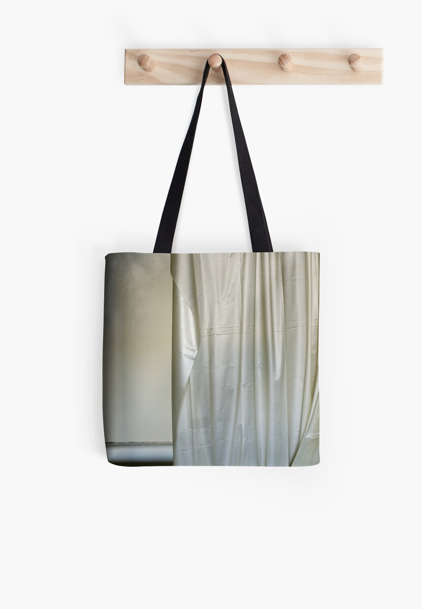 Shower Curtain Tote Bags By Rob Dobi