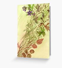 Emergence of Spring Greeting Card