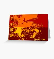 Reach For Bright Skies Greeting Card