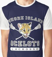 Whore Island Ocelots - Archer Graphic T-Shirt
