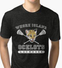 Whore Island Ocelots - Archer Tri-blend T-Shirt