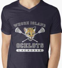 Whore Island Ocelots - Archer Mens V-Neck T-Shirt
