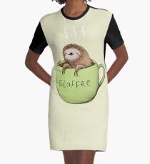 Sloffee Graphic T-Shirt Dress