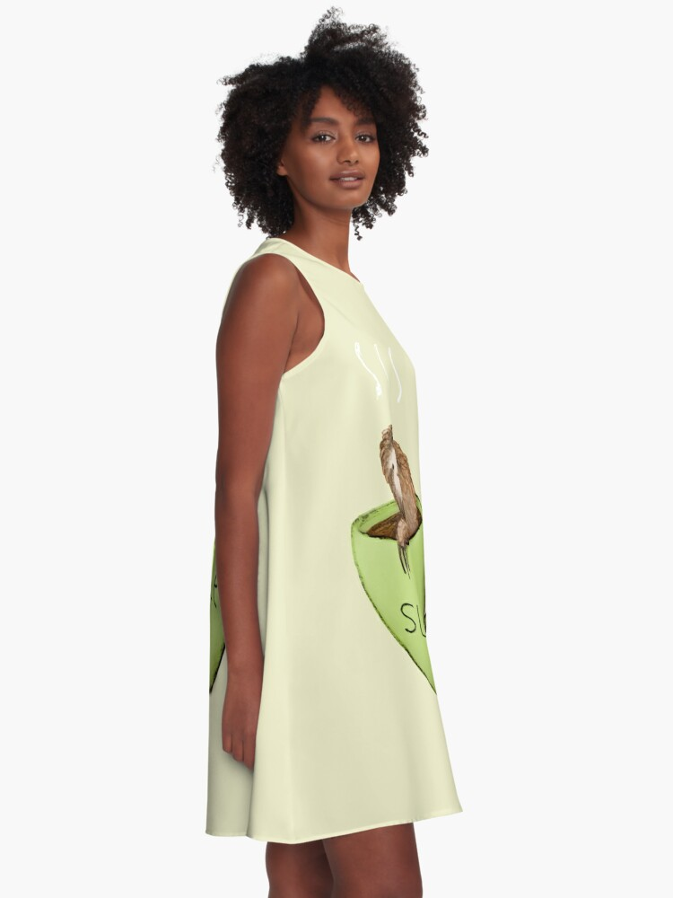 Alternative Ansicht von Slioffee A-Linien Kleid