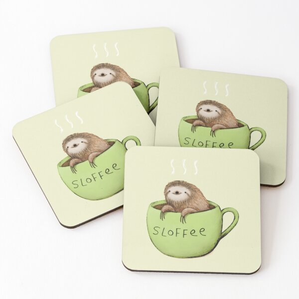 Sloffee Coasters (Set of 4)