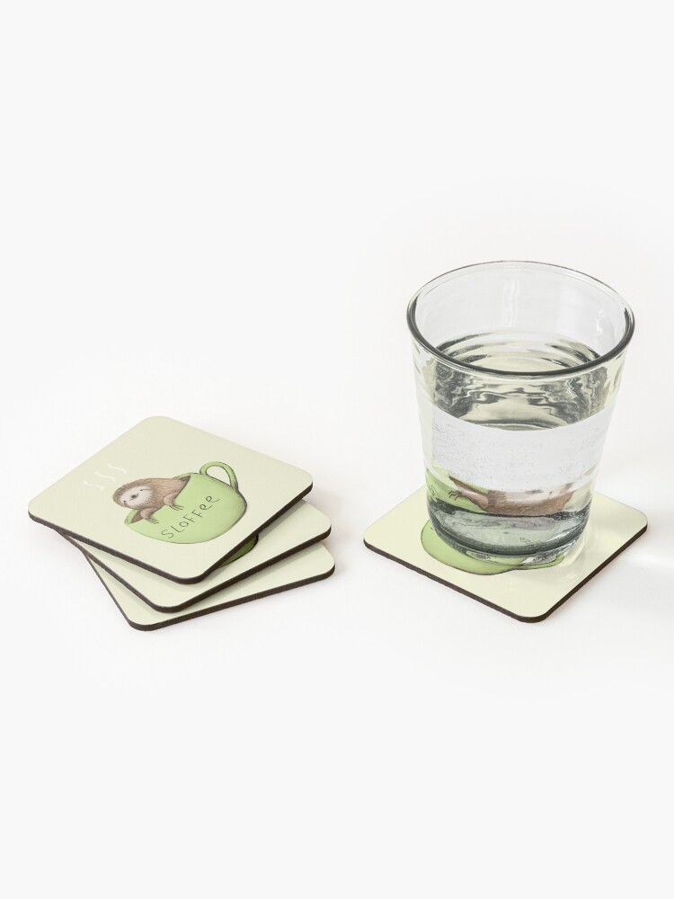 Alternate view of Sloffee Coasters (Set of 4)
