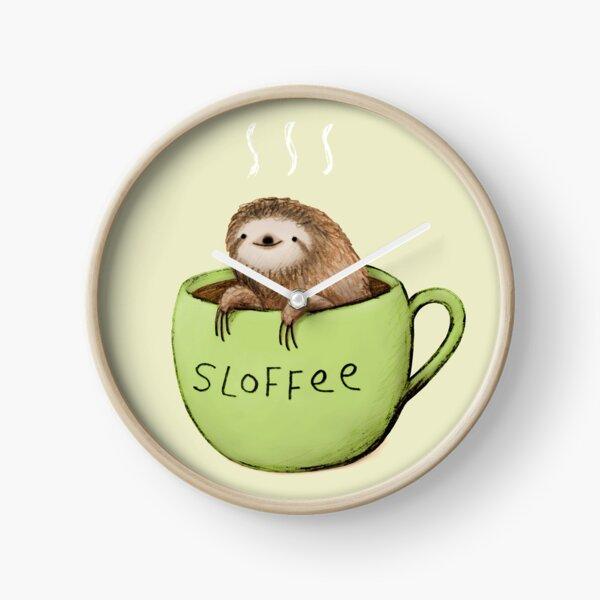 Sloffee Clock