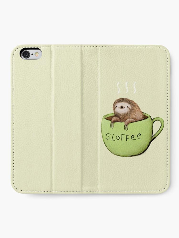 Alternate view of Sloffee iPhone Wallet