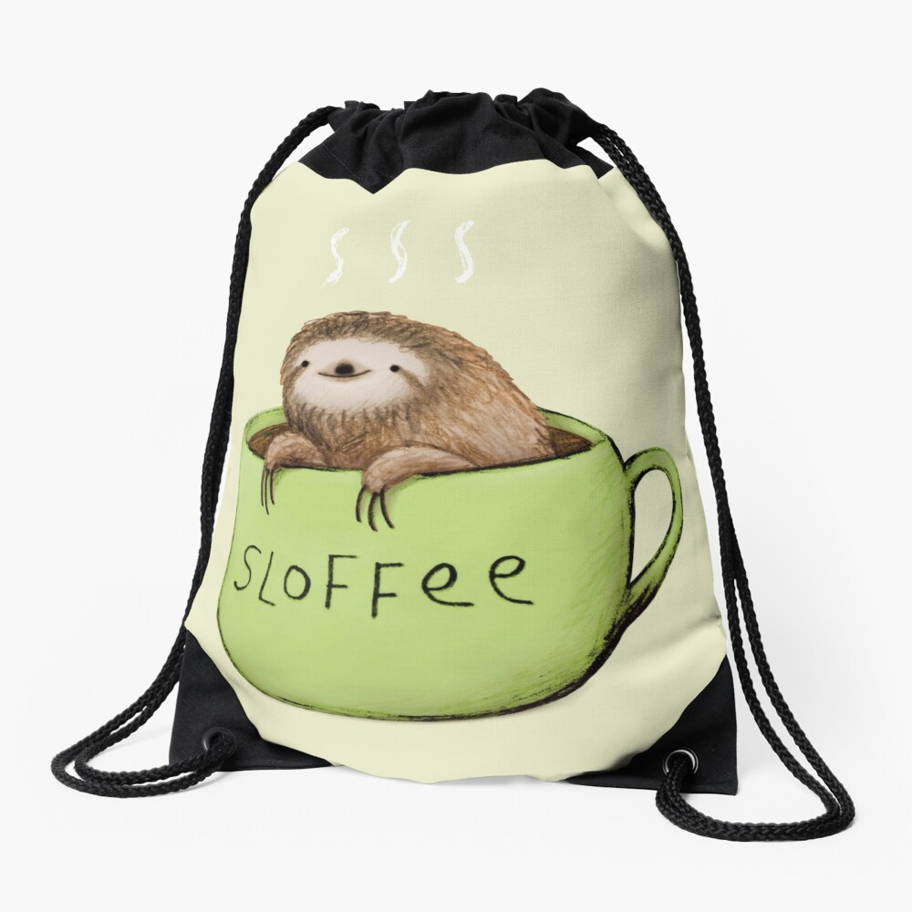 Sloffee Drawstring Bag